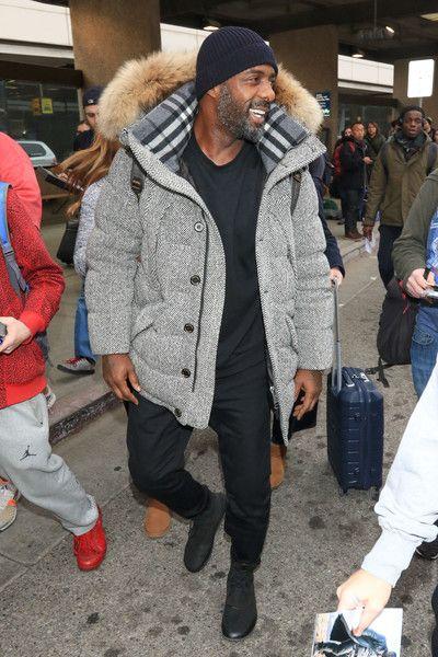 Idris Elba Photos - Idris Elba is seen in Park City, Utah. - Idris Elba at Salt Lake International Airport