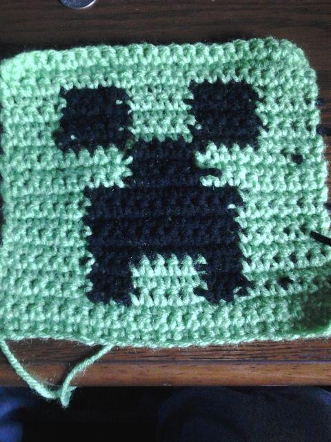 Serendepity, Minecraft Creeper Crochet Pattern