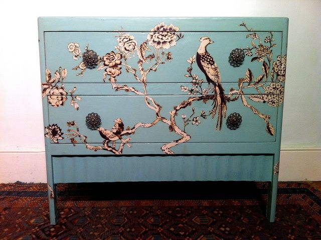 decoupage ideas for furniture. decoupage chest of drawers ideas for furniture n
