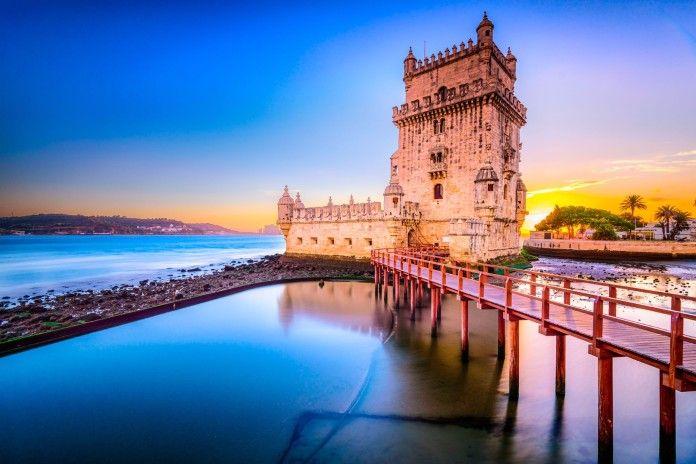 La Torre di Belém a Lisbona