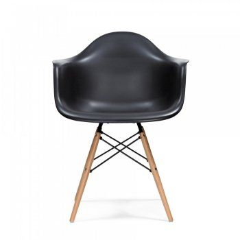Black DAW Style Chair | Cult Furniture UK