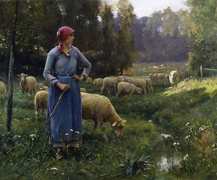 Julien Dupres (1851-1910), The Farmer