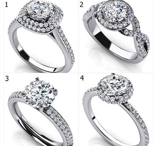 Todas Las Alianzas Con Diamantes Son Hermosas Sin Embargo Hay Algunas Que Más Especiales
