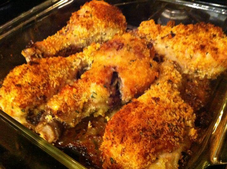 OVEN-FRIED CHICKEN ~ for Type Os ~~~ http://5fffffs.blogspot.com/2013/05/oven-fried-chicken-for-type-os.html