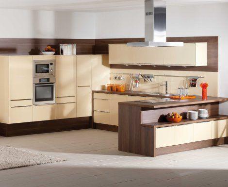 Moderní designová kuchyně Nella. Kuchyně a spotřebiče jedné značky - gorenje. #kuchyně #design #interiér #domov #gorenje