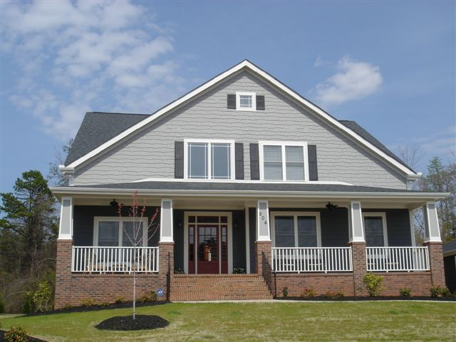 47 best images about craftsman homes on pinterest house for Craftsman custom homes
