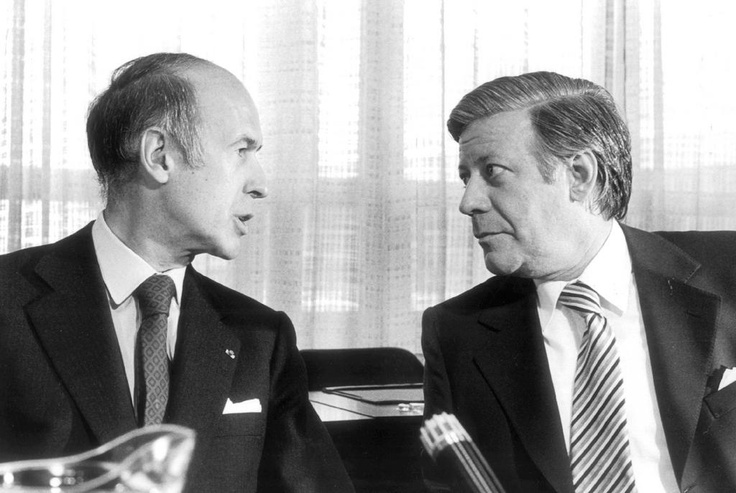Valéry Giscard d'Estaing & Helmut Schmidt