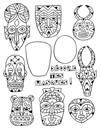2 masques                                                                                                                                                                                 Plus