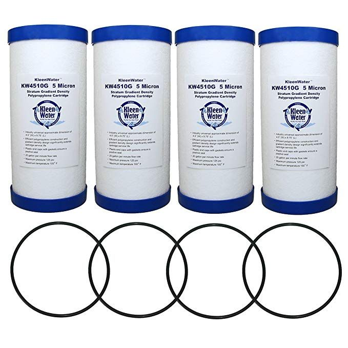 Ge Gxwh30c Gxwh35f And Gxwh40l Compatible Replacement Filter With Ws03x10039 Oring 4 Review Replacement Filter Water Purification System Water Filter Cartridges