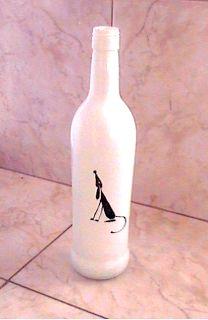 El arte del desquite: Botella pintada 7