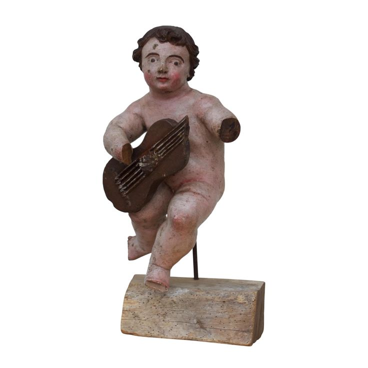 Late 17th Century Italian Painted Putto by MollyandMaudsPlace on Etsy https://www.etsy.com/listing/384332426/late-17th-century-italian-painted-putto