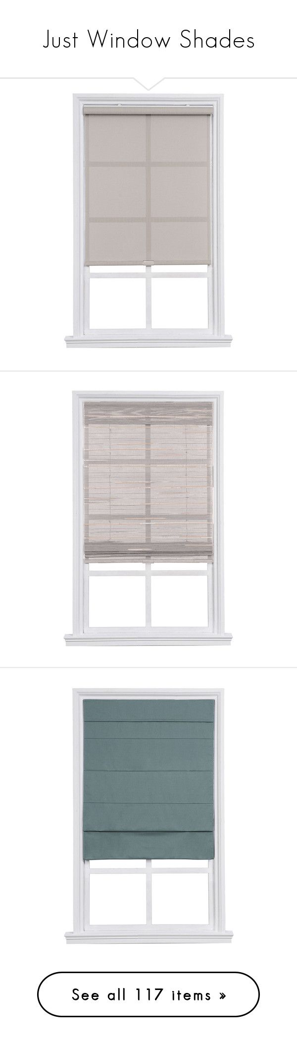 """""""Just Window Shades"""" by rotunda ❤ liked on Polyvore featuring Window, shade, treatment, home, home decor, window treatments, window blinds, cordless window treatments, transitional home decor and cordless shade"""