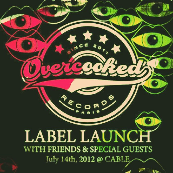Overcooked Records Label Launch ~ London #TBT