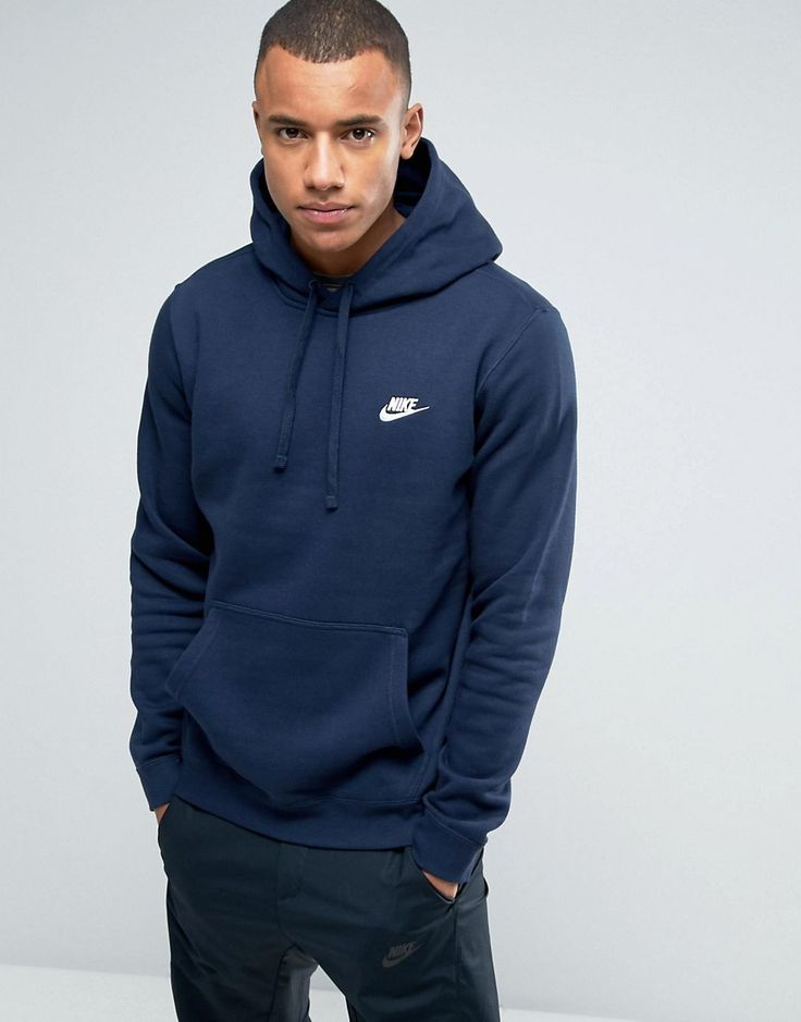 Get this Nike's hooded sweatshirt now! Click for more details. Worldwide shipping. Nike Pullover Hoodie With Swoosh Logo In Blue 804346-451 - Blue: Hoodie by Nike, Soft-touch sweat fabric, Drawstring hood, Over-the-head style, Embroidered logo, Pouch pocket, Ribbed trims, Regular fit - true to size, Machine wash, 80% Cotton, 20% Polyester, Our model wears a size Medium and is 185.5cm/6'1 tall, Supplier code: 804346-451. Back in 1971 Blue Ribbons Sports introduced the concept of the Greek…