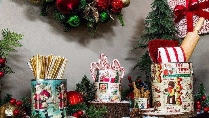 Diy Vintage Christmas Tins Paige Hemmis Is Turning Tins