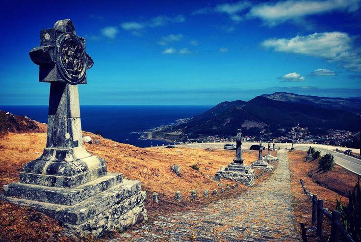 Subiendo al Monte Santa Tecla, en #AGuarda #Pontevedra #Galicia vía @estebancr76 #SienteGalicia
