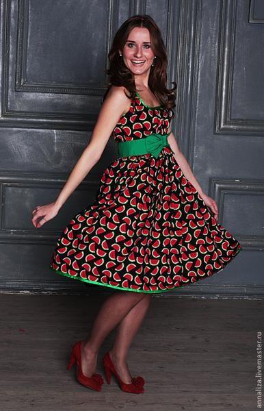 Платье из фантазии