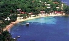 West End Village - activities - snorkel coral reef from shore - white sand beach - restaurants - shops - Rotan - Honduras