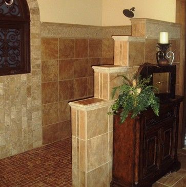 Master Bath Walk In Shower Design Ideas, Pictures, Remodel, and Decor - page 4