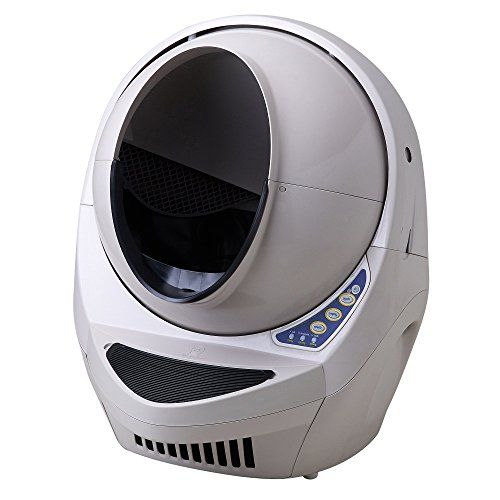 Litter-Robot III Open-Air  - very expensive, but less so at www.litter-robot.com