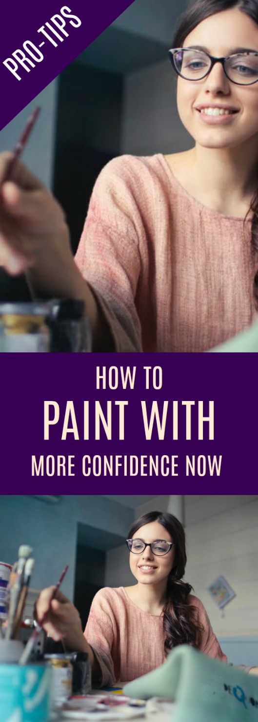 Painting with confidence is difficult for beginners. But try these practical tips from a professional artist and feel more confident when painting.