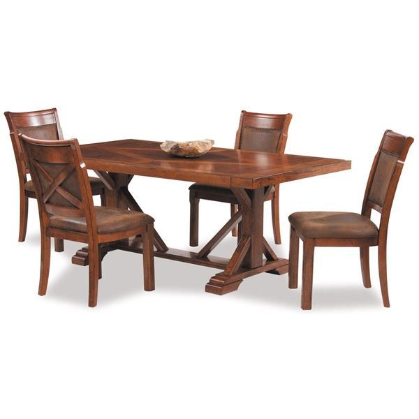 American Furniture Warehouse Online Shopping: Vintage 5 Piece Dining Set By Holland House Furniture Is