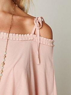 pleated neckline - freepeople, LOVE!!!