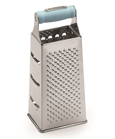 This Seaside Blue Four-Sided Grater is perfect! #zulilyfinds