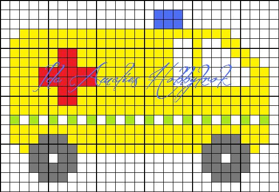 Fikk idag spørsmål om jeg hadde noen mønster / diagram på brannbil og sykebil. Det hadde jeg ikke, men bestemte meg for å lage noen. Selv ha...