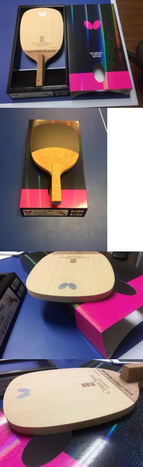 Paddles 36277: Butterfly Table Tennis Cypress G-Max Jpen Blade -> BUY IT NOW ONLY: $319.99 on eBay!