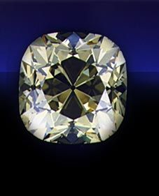 Weighing 234.65 carats, the De Beers is the seventh largest faceted diamond in the world