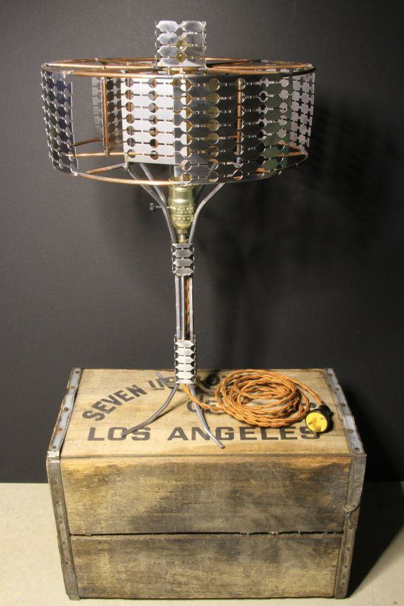 Mig Welding Wire Spool Lamp by ChayRay on Etsy, $300.00