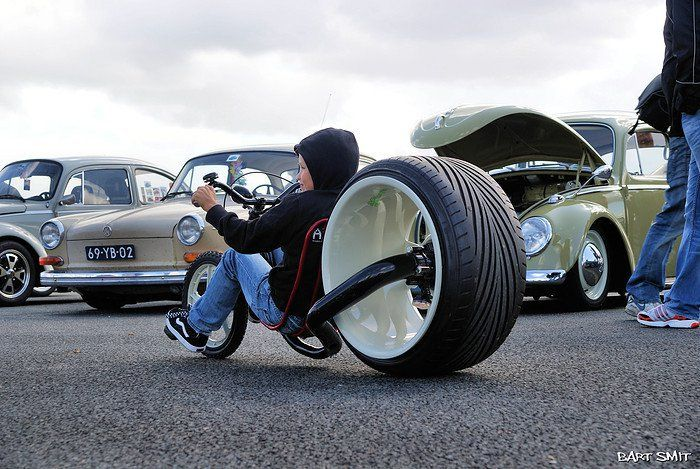 The new and improved big wheel bike bikes pinterest for Is a bicycle considered a motor vehicle