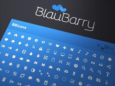 BlauBarry site wip by Mikael Eidenberg