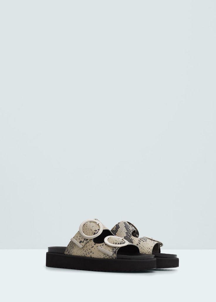 Sandals - Παπούτσια for Γυναίκα | MANGO ΜΑΝΓΚΟ Ελλάδα