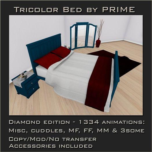 Tricolor Bedroom Diamond by PRIME