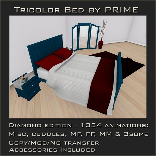 Tricolor Bedroom Diamond by PRIME