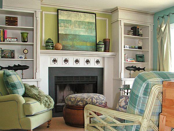 possible solution for fireplaceDecor Ideas, Fireplaces Mantels, Mantel Decor, Livingroom, Living Room, Mantels Ideas, Fireplaces Wall, Families Room, Home Improvements