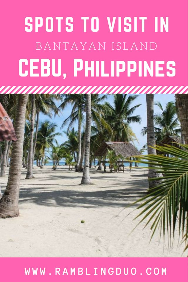 One of Cebu's beautiful island - Bantayan Island. Check what are the other spots you can visit at the said place with this guide!
