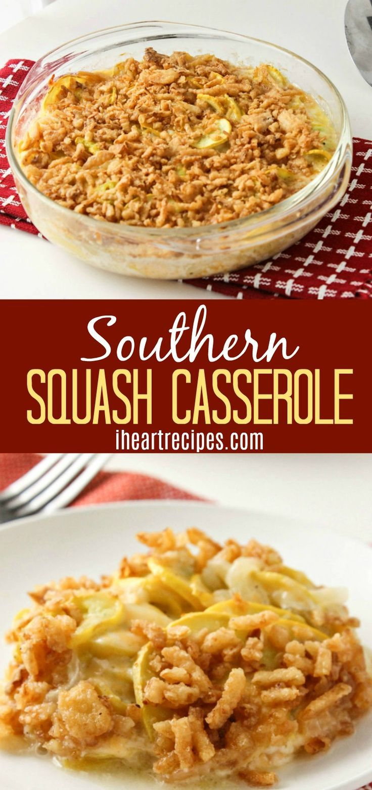 Creamy Yellow Squash C Erole Made Southern Style Its Made With Sour Cream And Its Super
