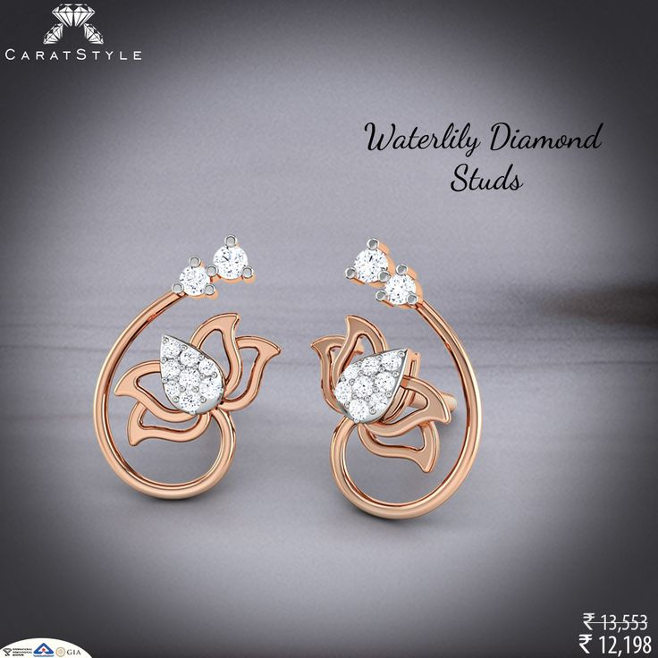 This #independenceday flaunt with the #Waterlily #earrings.
