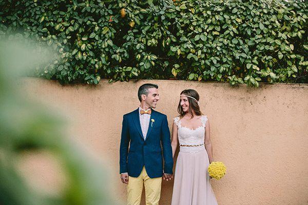 Ρουστικ γαμος με κιτρινο χρωμα| Βασιλικη & Παναγιωτης - Love4Weddings