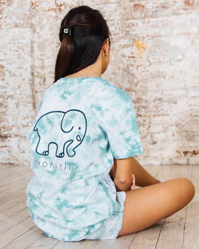 a092cf46c Pistachio Cloud Tie Dye Ella Tee | Summer! | Tie dye fashion, Tie ...