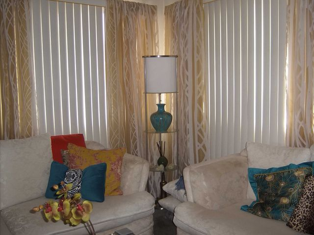 Curtains Over Vertical Blinds Hate The Vertical Blinds