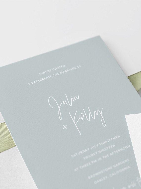 Wedding Invitation Set Template Printable Wedding Invitation