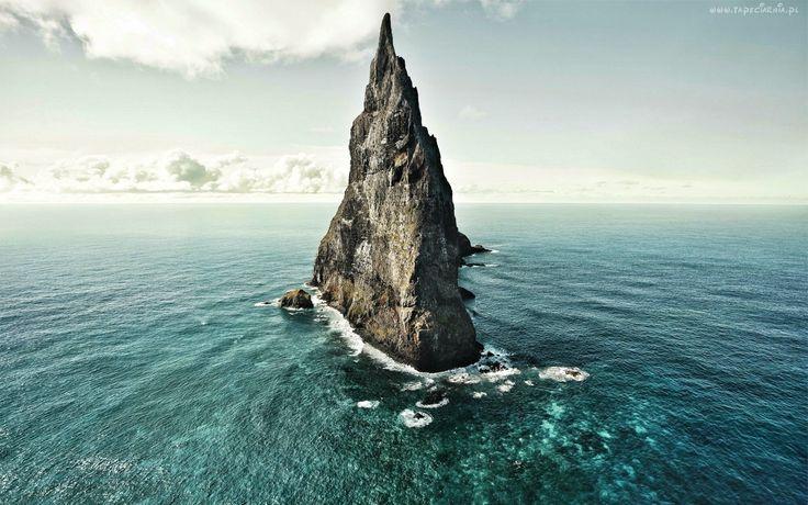 Morze, Skała