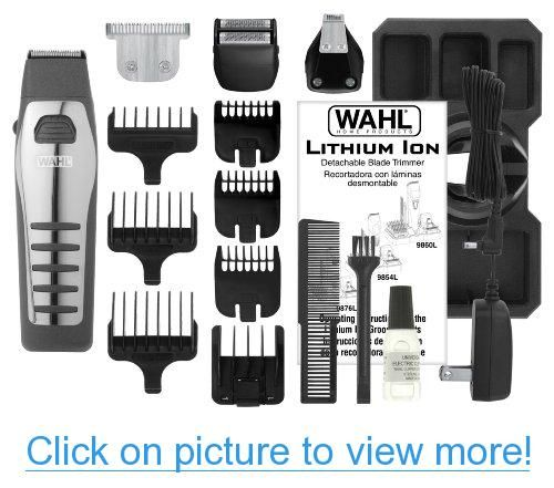 wahl lithium ion all in one trimmer instructions