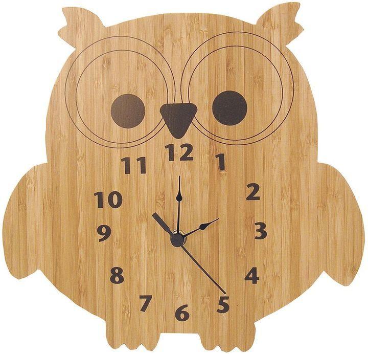 Trend lab northwoods owl wall clock