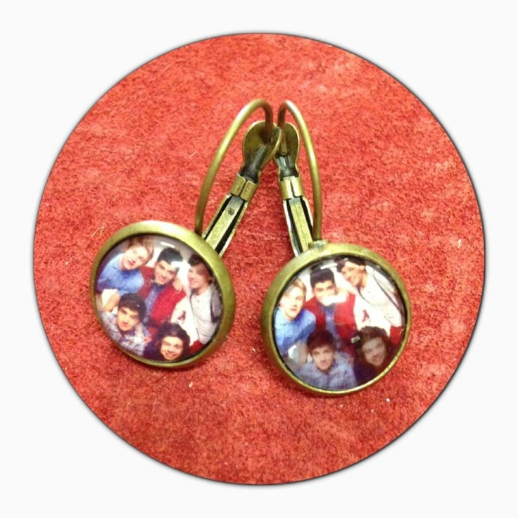 Amazing One Direction 1D handmade earrings $12 plus postage if required.