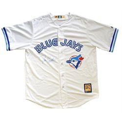 Carter,J Signed Jersey - Toronto Blue Jays White Majestic